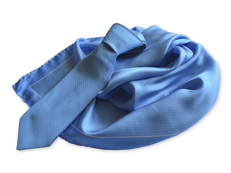 Seidenkrawatten mit passenden Tüchern Kollektion Company-Fashion