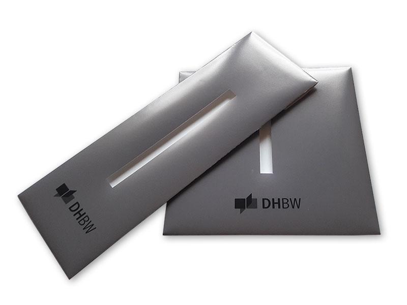 Krawattenverpackung farbig