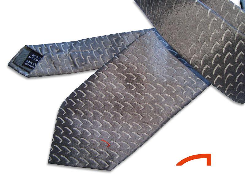 Referenzen individuell gestalteter Krawatten Krawatten individuell Assistance-Partner