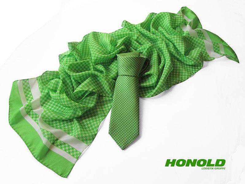 Firmenkrawatten und individuelle Schals Honold