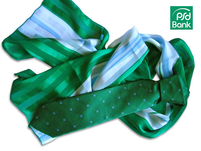 Krawatten Tücher Banken und Sparkassen PSD-Bank