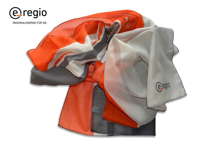 Mitarbeiterschals mit Logo Regionalgas