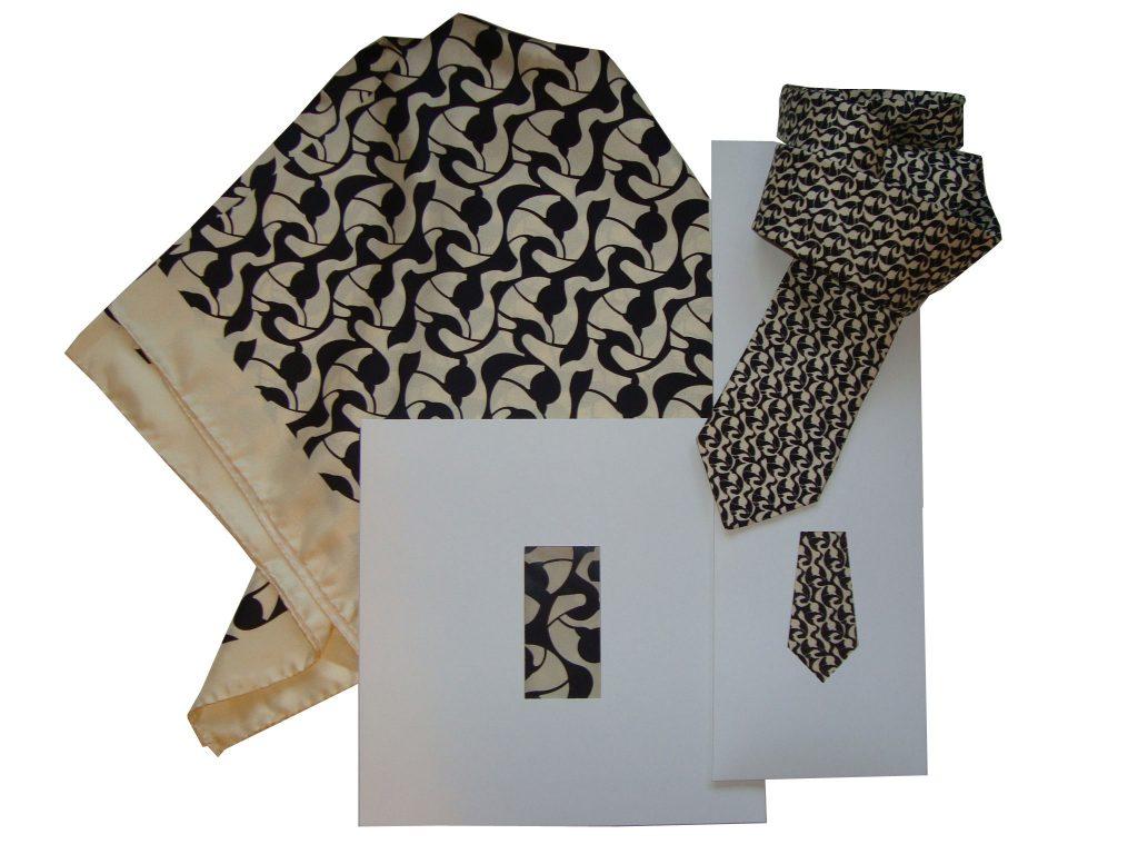 Verpackungen mit Fenster für Tücher und Krawatten