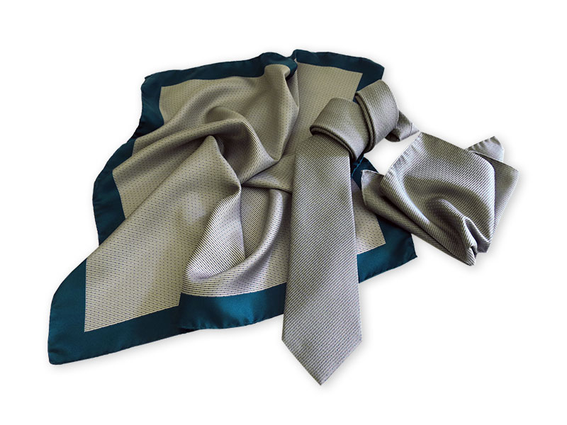 caf91b48eed7d Seidenkrawatten mit passenden Tüchern Kollektion Company-Fashion