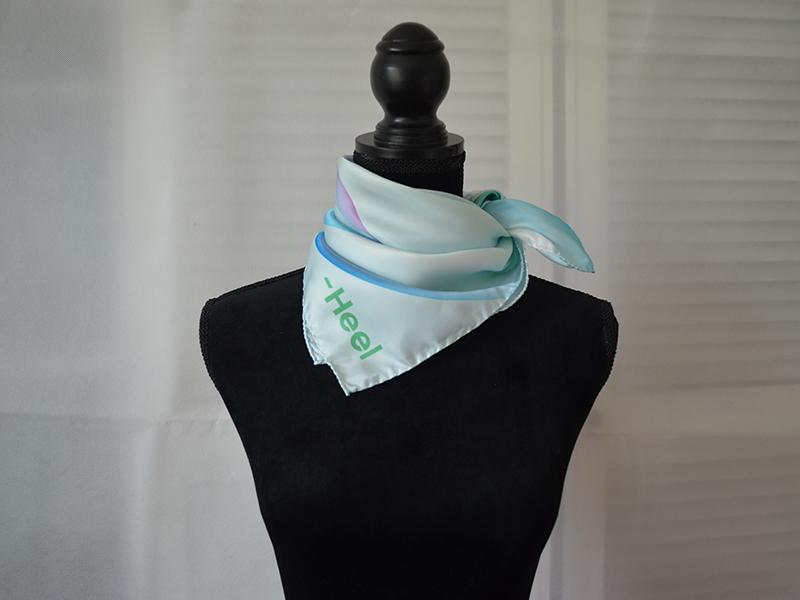Tücher und Schals dekorativ binden, Anleitungen Krawattenknoten