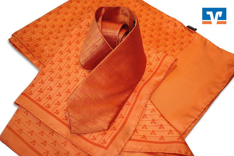 Krawatten Tücher und Schals Volksbanken