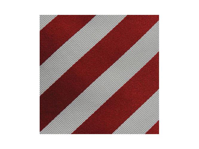 gestreifte Sparkassen-Krawatten mit Schals oder Loop-Schals aus Seide