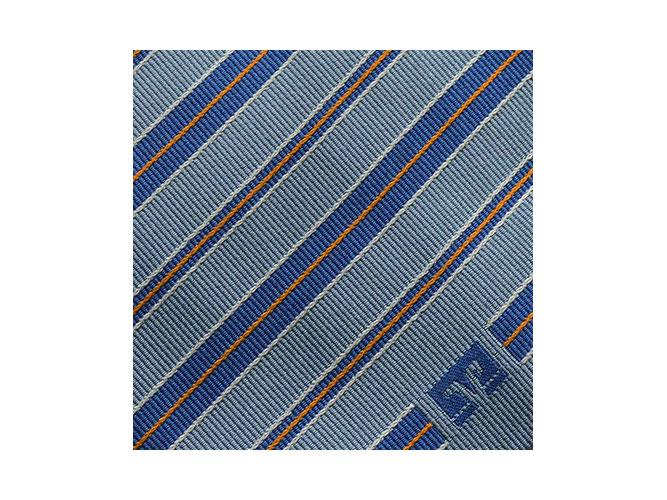 Gewobene Krawatten mit Logo aus Seide mit passenden Tüchern für Volksbanken Raiffeisenbanken