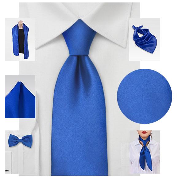 einfarbige Krawatten mit passenden Tüchern, Ziertüchern, Chorschals ab Lager lieferbar