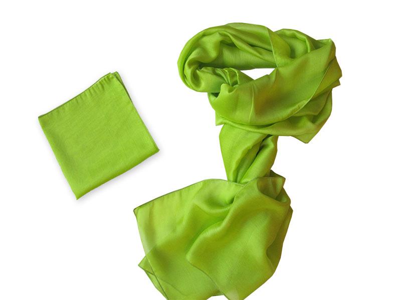 Schal mit Einstecktuch