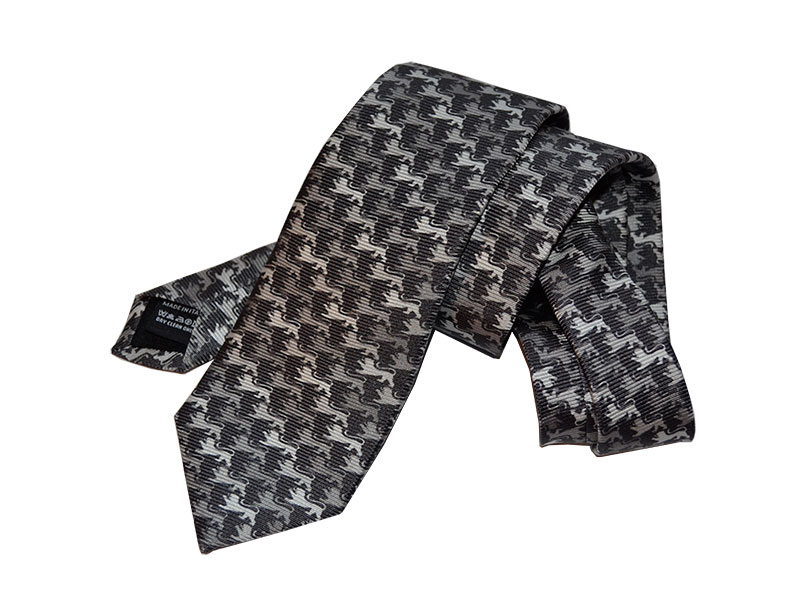 Auf einer Hermès-Qualität gedruckt: Krawatten auf 22mm Twill im Digitaldruck