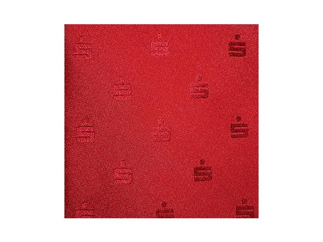 Sparkassenkrawatten und Tücher in rot HKS 13 - Reine Seide