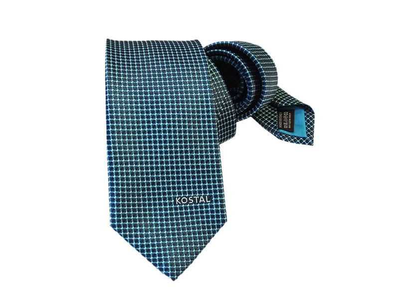 Krawatten mit eingewobenem Firmenlogo für Mitarbeiter