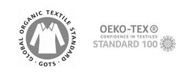 Firmenkrawatten mit Logo Öko Tex