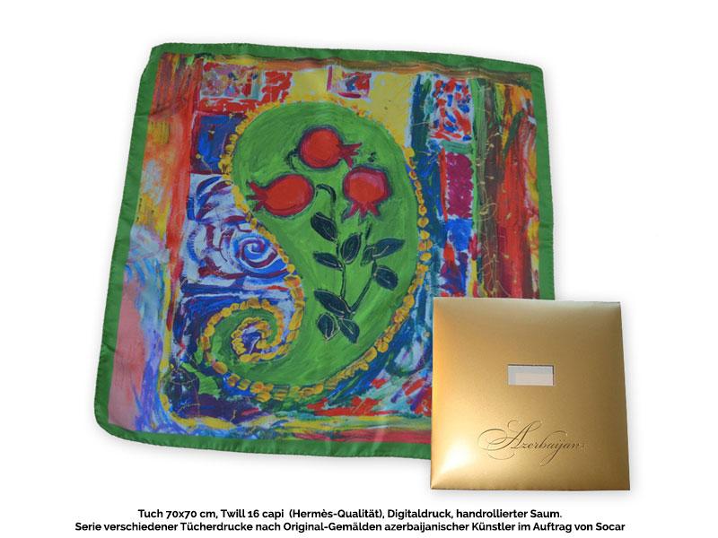 Seidentuch-nach-Gemälde-in-Hermes-Qualität-mit-handrolliertem-Saum
